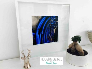 Sarah Jane Modern Art Print called Faceless VI in a small white shadowbox frame - Modern Detail By Sarah Jane