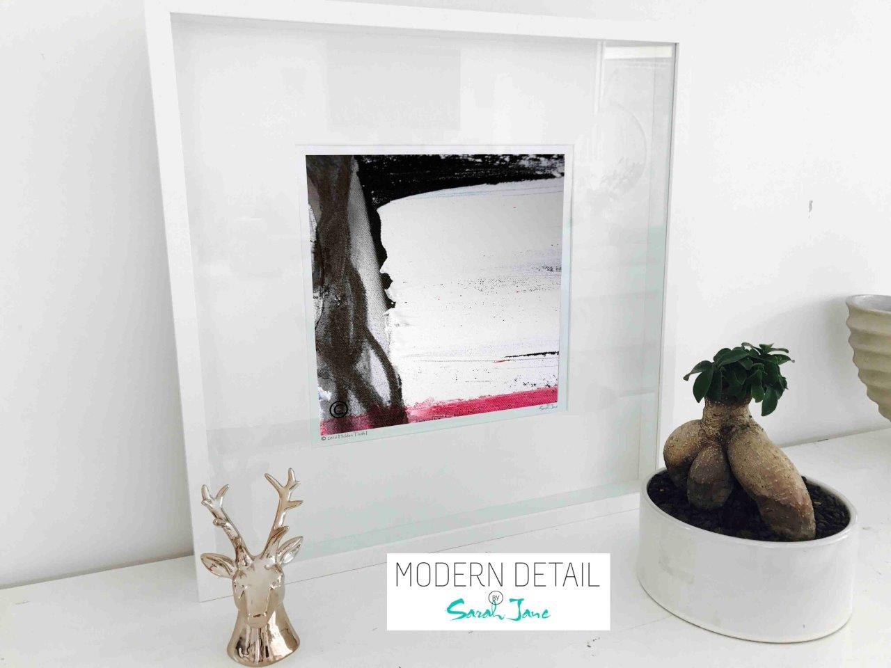 Regal Modern modern abstract print by artist called regal vii in
