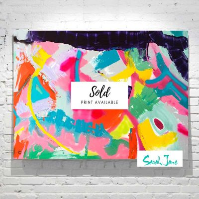 Sarah-Jane-Paintings-Sold---Colour-me-Happy Painting-abstract-happy-vibrant-colours