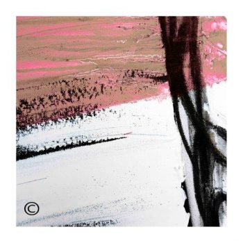 Sarah Jane modern art print surrounded by a small white border and called Regal IIIe - Modern Detail By Sarah Jane