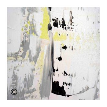 Sarah Jane modern art print with soft tones surrounded by a small white border and called On the Move XXXI - Modern Detail By Sarah Jane