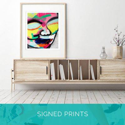 Signed Prints - Framed | Unframed