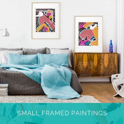Small Framed Paintings