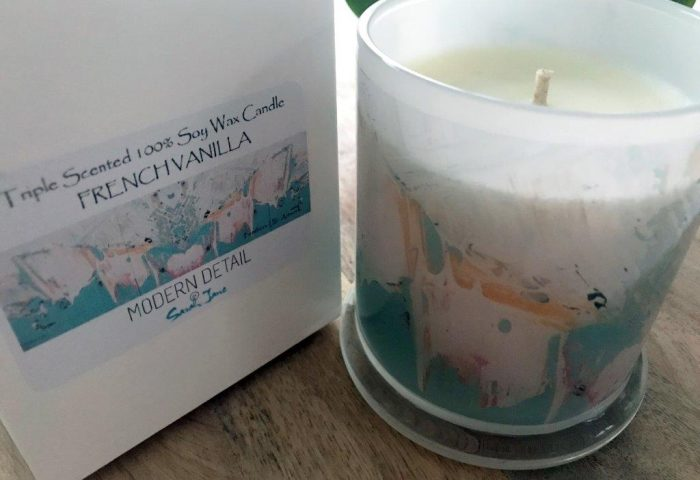 Soy Candle from Modern Detail By Sarah Jane - Feathers LIIIc