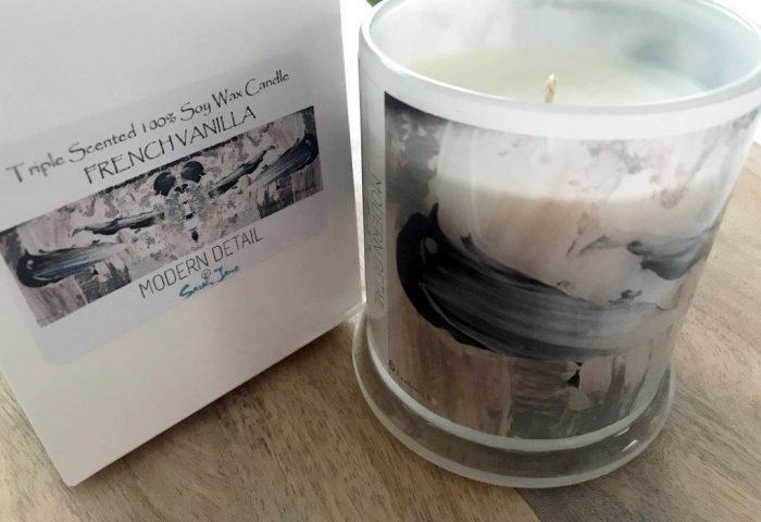 Soy Candle from Modern Detail By Sarah Jane - Feathers Lb