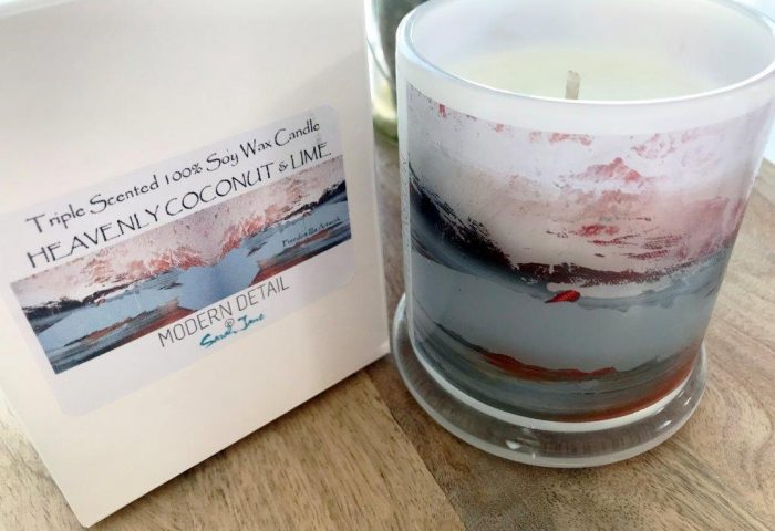 Soy Candle from Modern Detail By Sarah Jane - Freedom IIIa
