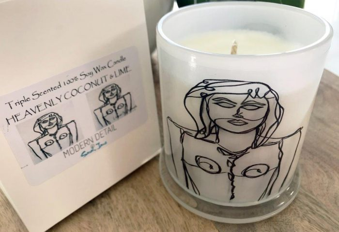 Soy Candle from Modern Detail By Sarah Jane - Linear IV