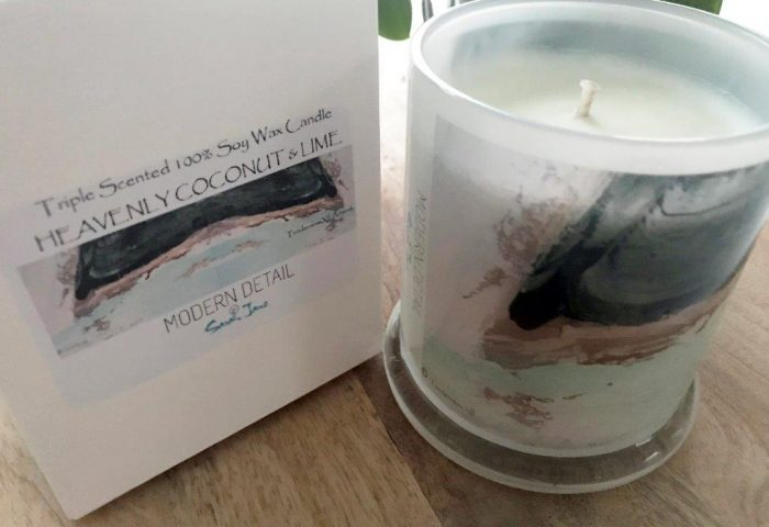 Soy Candle from Modern Detail By Sarah Jane - Tenderness XII