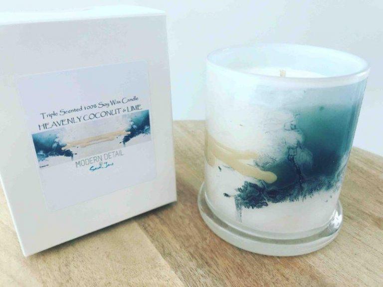 Trendy Art Candle By Sarah Jane - Stellar VII
