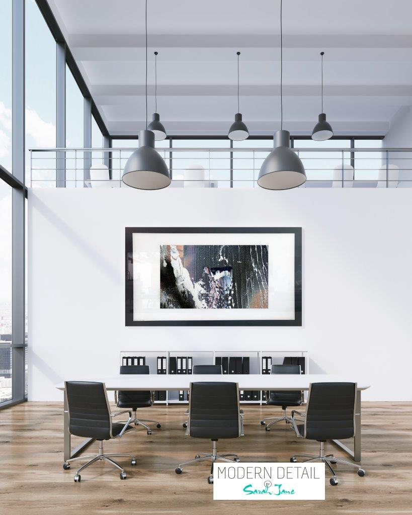 Trendy Art for a boardroom from Modern Detail By Sarah Jane - Anonymous XIIa