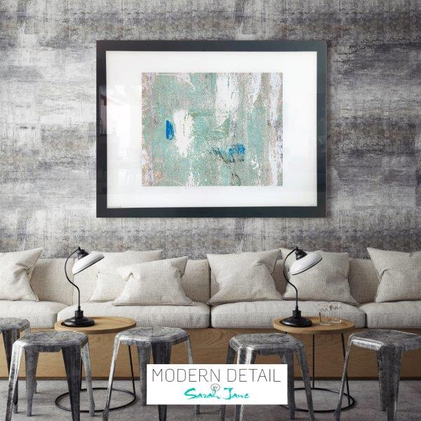 Trendy Art for a cafe or restaurant from Modern Detail By Sarah Jane - Boardwalk IIIe