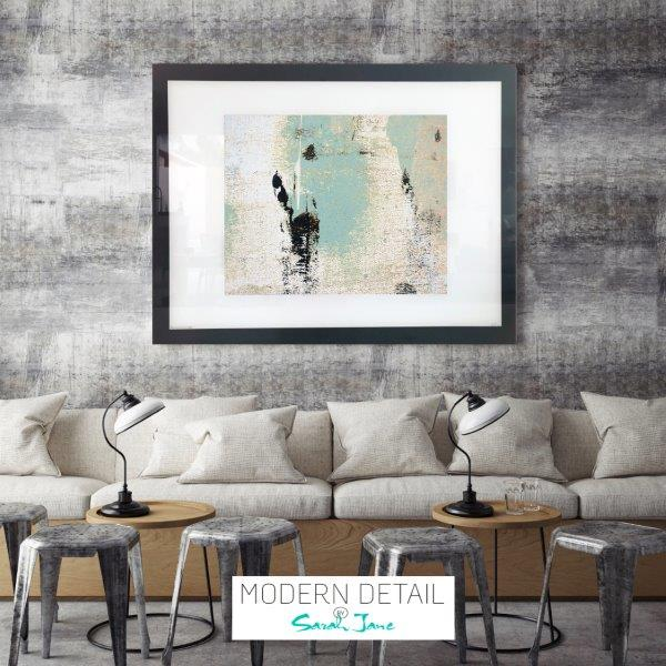 Trendy Art for a cafe or restaurant from Modern Detail By Sarah Jane - Boardwalk IIa