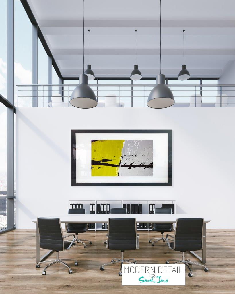 Wall Decor for an office space from Modern Detail By Sarah Jane - Cozzie VIIb