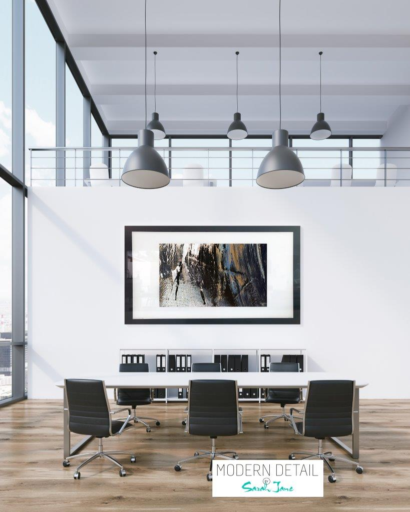 Wall decor for a boardroom from Modern Detail By Sarah Jane - Anonymous XIVe