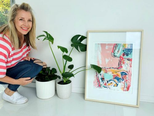 energetic-colourful-prints-framed---sarah-jane-adelaide-artist---no-nonsense-i