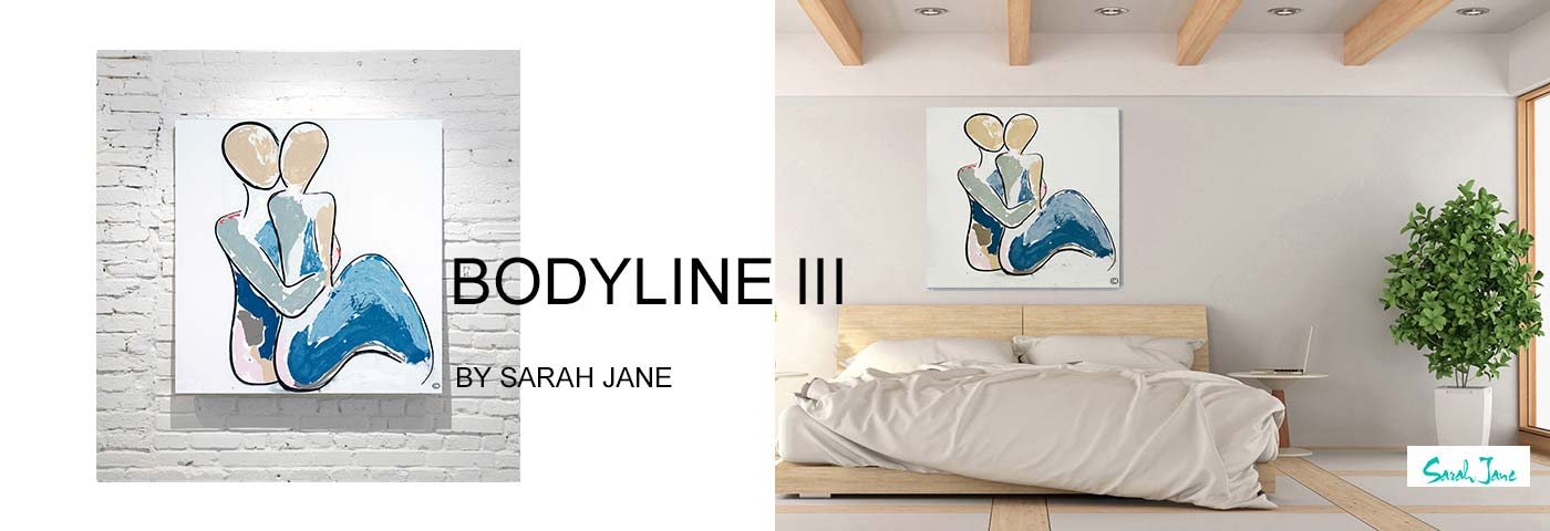 modern abstract art australia by sarah jane artist - modeern paintings portfolio bodyline iii