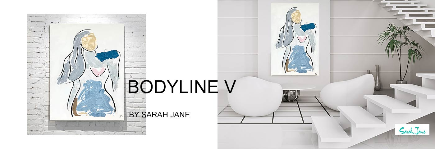 modern abstract art australia by sarah jane artist - modeern paintings portfolio bodyline v