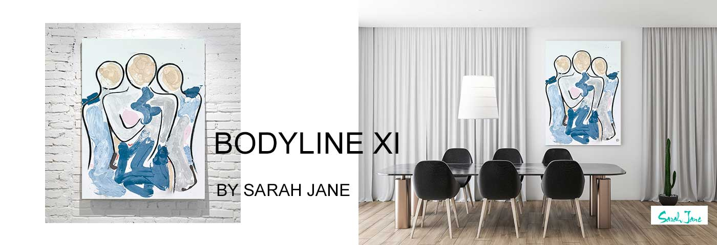 modern abstract art australia by sarah jane artist - modern paintings portfolio bodyline xi