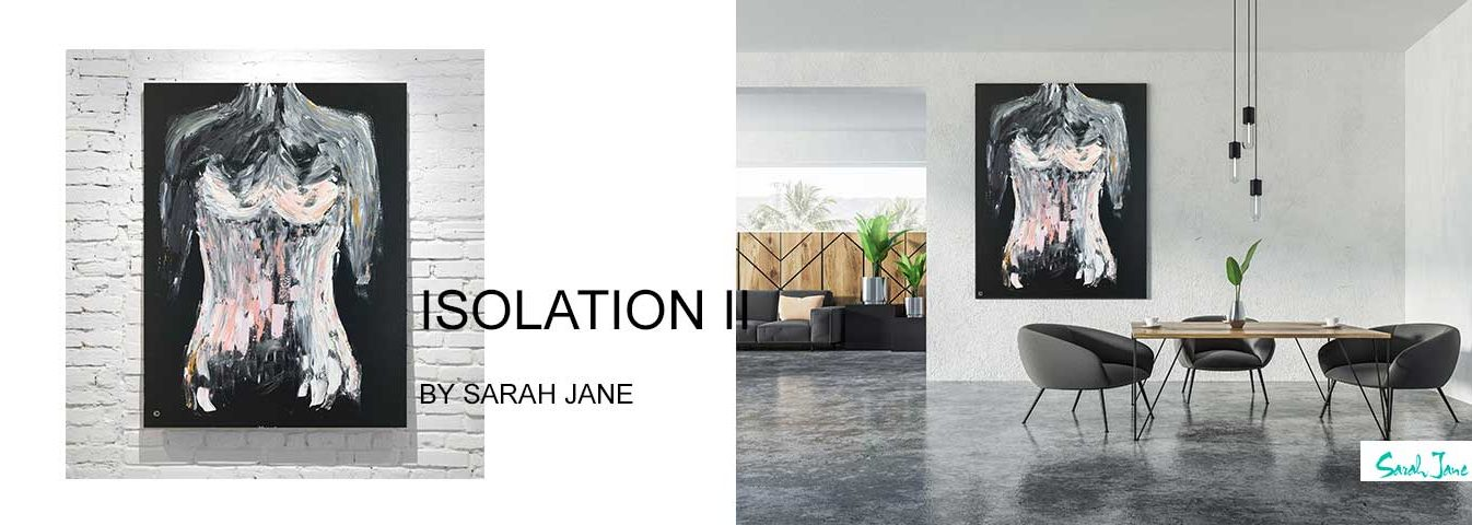 modern abstract art australia by sarah jane artist - modern paintings portfolio isolation ii