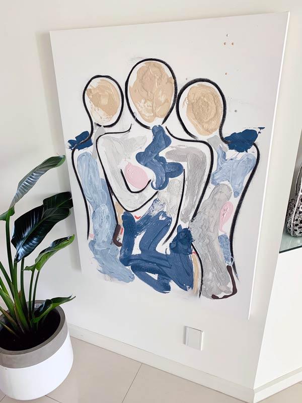 sarah jane bodyline xi original painting